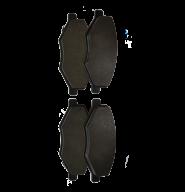 Колодки тормозные передние без ушка Chery Amulet EEP. Артикул: