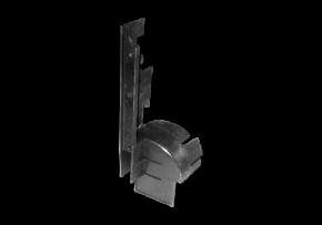 Кронштейн радіатора (закрилок) (пластик). Артикул: A11-1301213