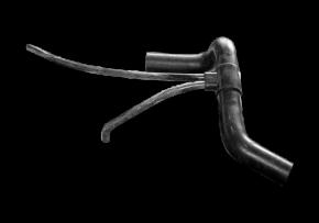 Патрубок радиатора отводной (осьминог). Артикул: A11-1303210CA