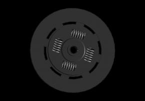 Диск зчеплення GPD. Артикул: a11-1601030ac