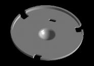 Сепаратор сцепления + пружинка A15. Артикул: A11-1601117AC