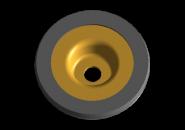 Шайба переднього амортизатора верхня (обрезинена) A15. Артикул: A11-2901060