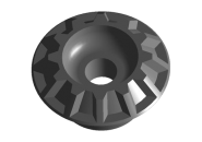Втулка амортизатора задняя верхняя Chery Amulet/Forza. Артикул: A11-2911017