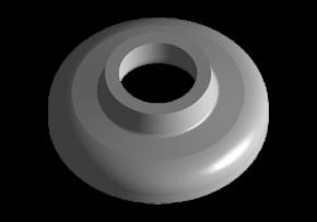 Крышка опоры амортизатора заднего Chery Amulet KLM. Артикул: A11-2911021