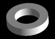 Шайба опоры амортизатора заднего нижняя (малая). Артикул: a11-2911027