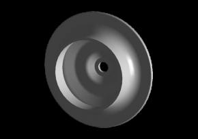 Чашка верхня метал пружини задньої Chery Amulet. Артикул: A11-2911029