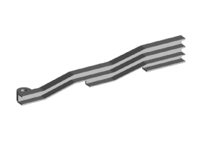 Кронштейн высоковольтных проводов направляющий. Артикул: a11-3707177