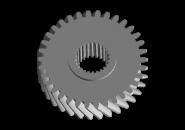 Шестерня 5 передачі вторинного валу A15. Артикул: A11-3AA015311361AA