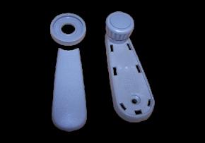 Ручка склопідіймача (сіра) Chery Amulet. Артикул: A11-6104310AL