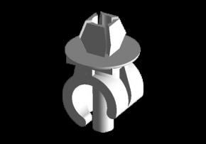 Фиксатор упора капота Chery Amulet/Forza. Артикул: A11-8402261
