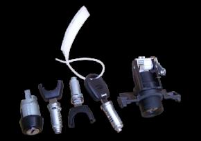 Комплект ключів і личинок. Артикул: a11-8cb6105h4