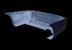 Бампер задній Chery Amulet (з підсилювачем). Артикул: A15-2804600-DQ