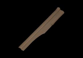 Накладка порога внутренняя задняя L (бежевая) Chery Amulet. Артикул: A15-5101050BC