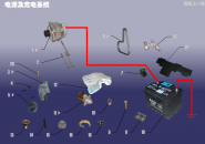 Питание и система зарядки. Артикул: A15DQXT-DYJCDXT