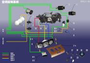 Панель управления кондиционером. Артикул: A15KTXT-KTKZXT