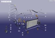 Конденсатор и трубопровод. Артикул: A15KTXT-LNQJGL