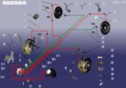 Система контроля тормозов. Артикул: A15ZDXT-ABSKZXT