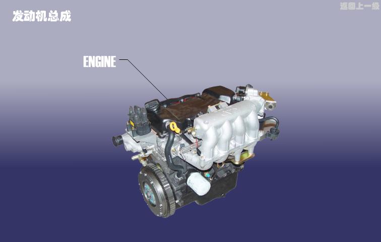 Двигатель в сборе Chery Karry (A18). Артикул: A18-FDJZC