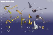 Механизм переключения передач. Артикул: A18DP-HDCZJG