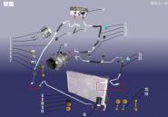 Трубопровід системи кондиціонування. Артикул: A18KTXT-GL