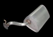 Глушитель задняя часть Chery Eastar. Артикул: B11-1201310