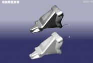 Кронштейн кріплення двигуна задній. Артикул: CJYHZ-YHZJ