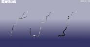 Трубка гідропідсилювача зворотня. Артикул: DLZXYL-HYG
