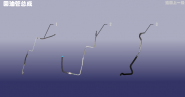 Трубка гидроусилителя обратная. Артикул: DLZXYL-HYG