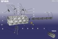 Клапанный механизм. Артикул: GG-PQJG-480ED