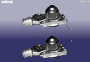 Помпа водяна. Артикул: LQGL-SBZC-480EC