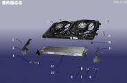 Радиатор охлаждения в сборе. Артикул: LQXT-SRQZC-480E