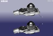 Помпа водяна. Артикул: LX-SBZC-480EC