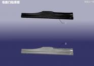 Накладка порога задняя правая внутренняя. Артикул: MFJT-YH