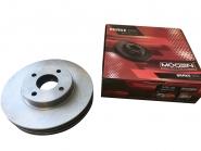 Диск тормозной передний (2шт) (Германия, MOGEN) S12 S21 S21-3501075. Артикул: MB130