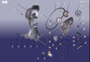 Газораспределительный механизм (ГРМ). Артикул: SQR7161FDJ-LX