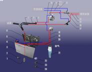 Система охолодження. Артикул: S12FDJFJ-LQXT
