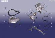 Система охолодження. Артикул: SQR7161FDJ-LQXT