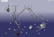 Гідропідсилювач рульового управління. Артикул: SQR7161ZXX-ZXGL