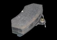Колодки тормозные передние с усиками ( Geely СК без ABS) T11-3501080. Артикул: T11-3501080