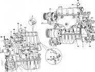Узлы систем двигателя. Артикул: a13-1-2