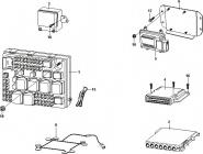 Блоки управління системи електрообладнання і подушками безпеки. Артикул: a13-1-3