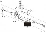 Рулевой механизм с тягами в сборе. Артикул: a13-2-9