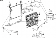 Система охлаждения двигателя. Артикул: a13-3-14