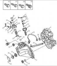 Корпус трансмісії [JL-S160G]. Артикул: ck-320-24-042