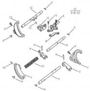Вилки переключения передач [JL-S160G]. Артикул: ck-330-30-042