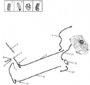 Топливный трубопровод [1.3L/1.5L]. Артикул: gc5-210-16-0101