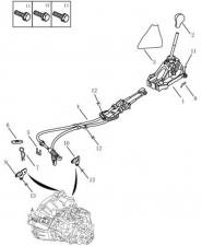 Ручная коробка переключения передач [JL-S160GIA ;JL-S160G]. Артикул: gc6-338-38-050