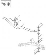 Стабилизатор передний. Артикул: gc6-415-15-050
