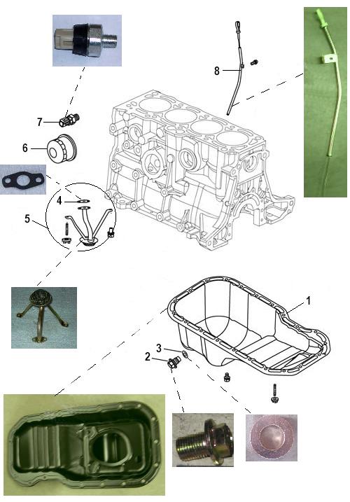 Масляный фильтр Geely MK (LG-1). Артикул: geely-mk-1-17