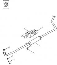 Глушнмк передня частина [1.0L]. Артикул: glc-272-72-091
